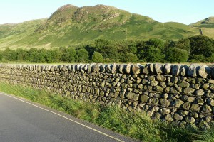 River boulders and slate used to maximum effect in Great Langdale